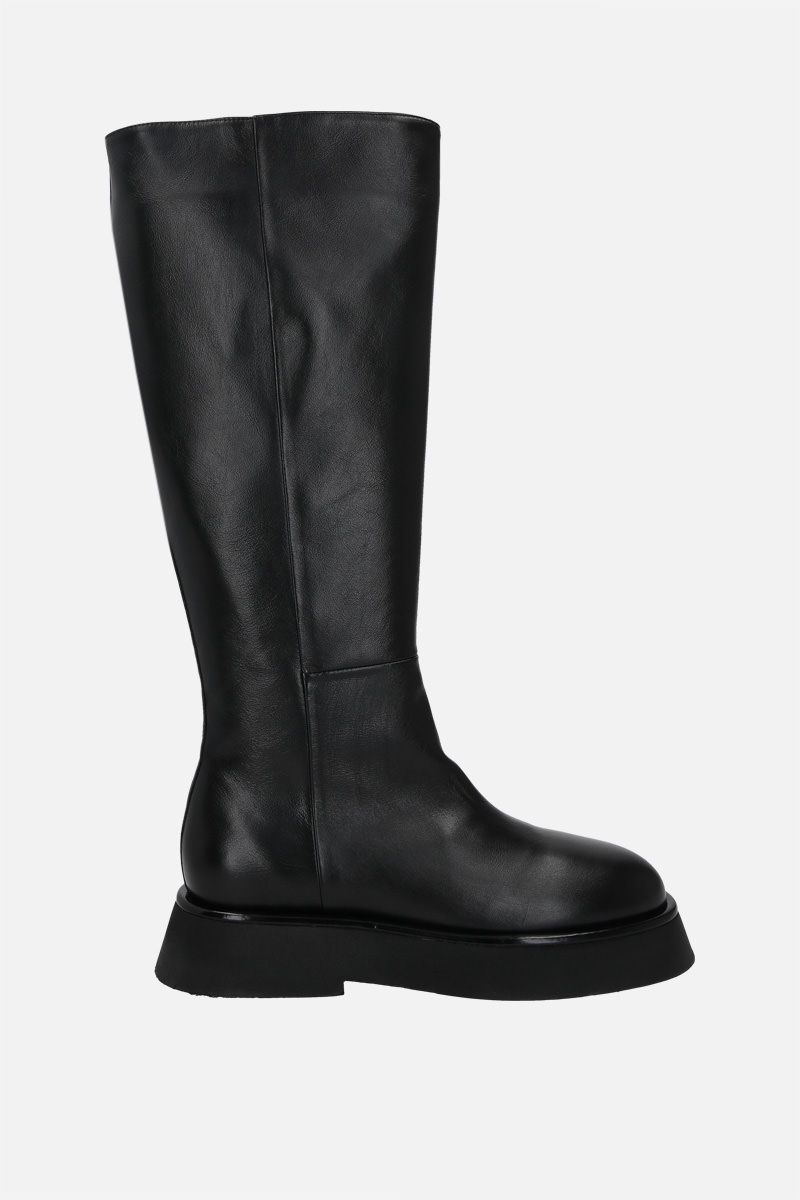 WANDLER: Rosa smooth leather boots Color Black_1