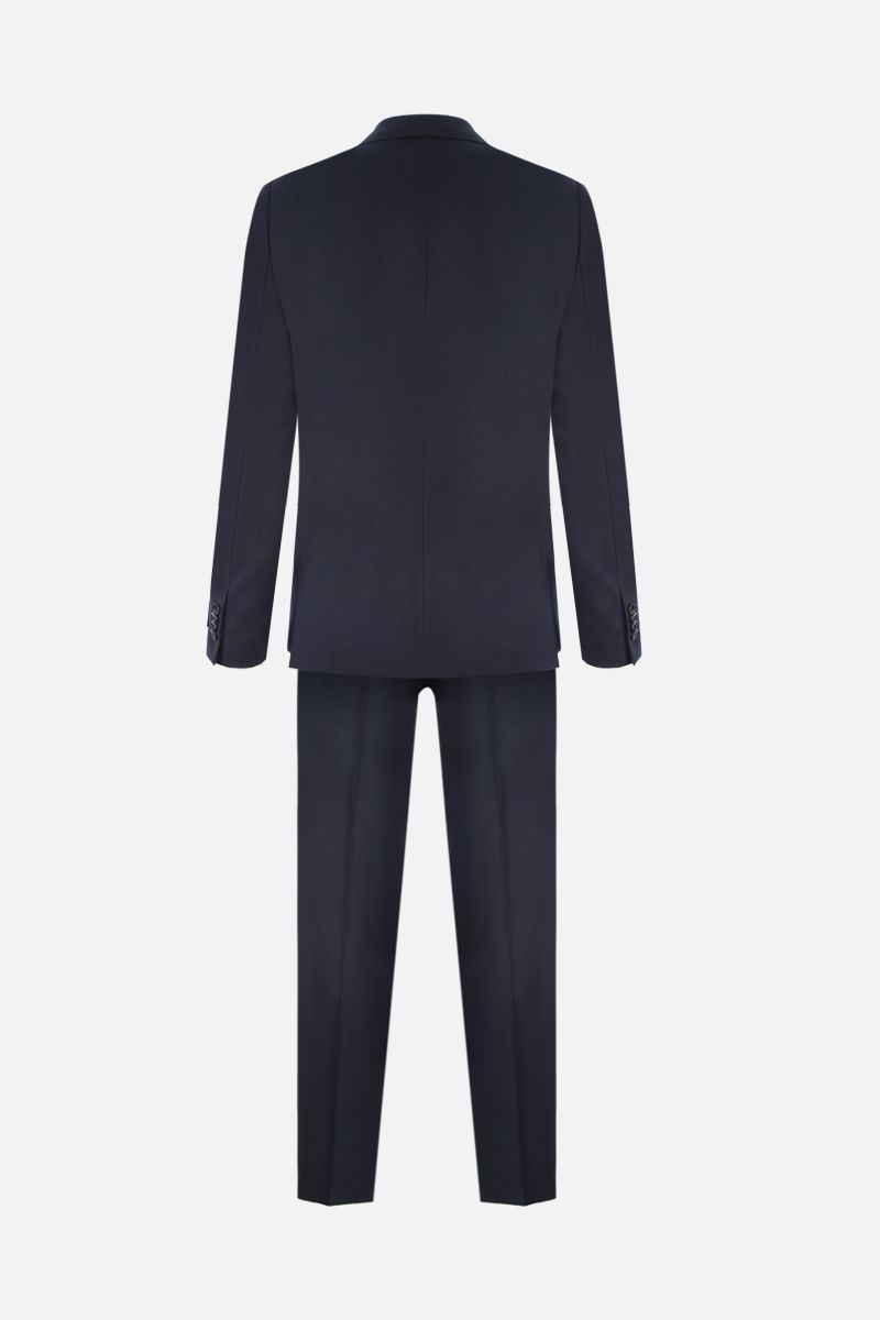 Z ZEGNA: lightweight wool two-piece suit Color Blue_2
