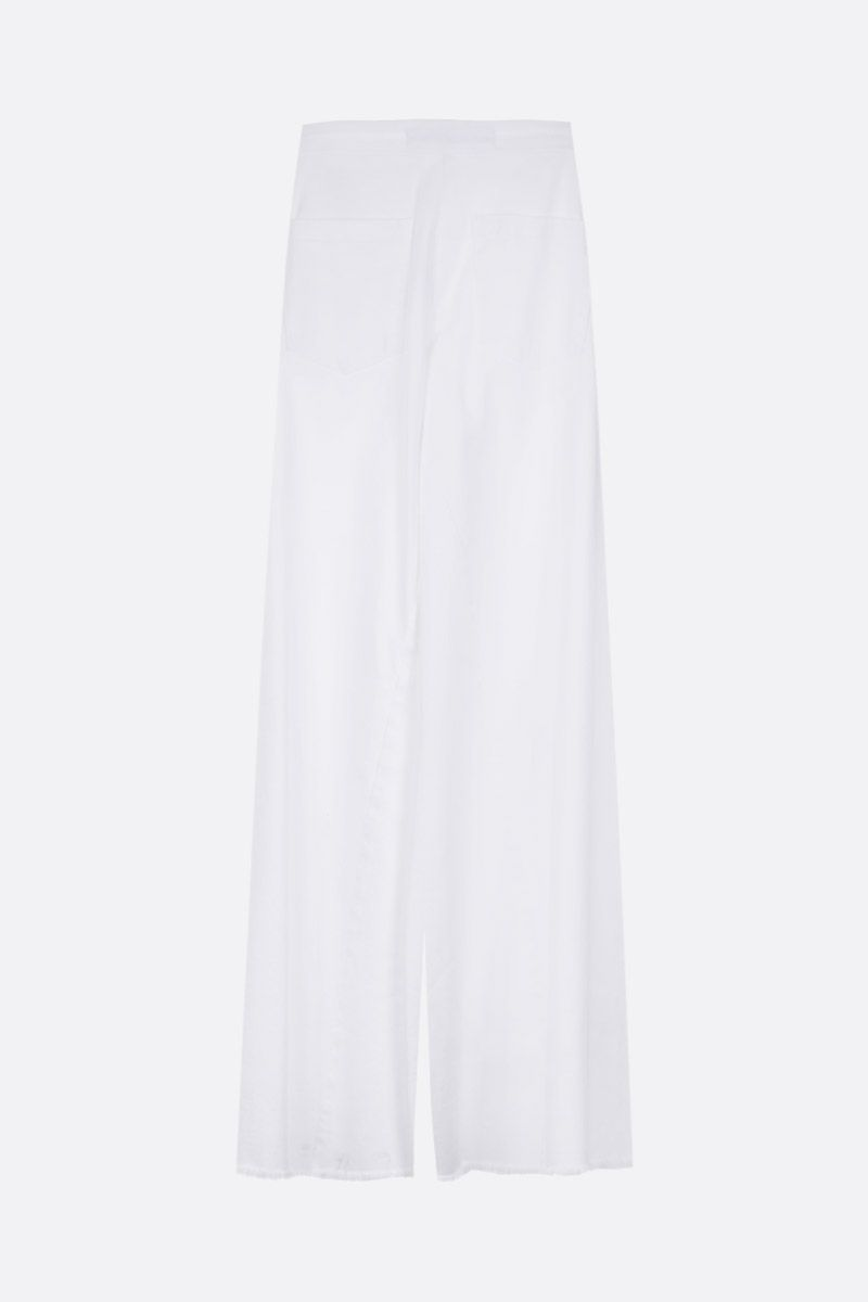 FEDERICA TOSI: flare jeans Color White_2