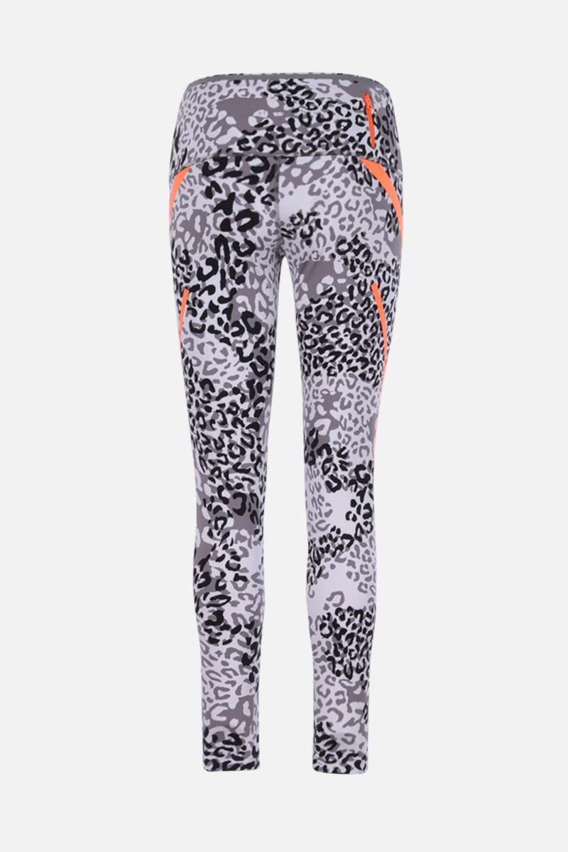 ADIDAS BY STELLA McCARTNEY: legging Truepace in jersey stretch Colore Nero_2