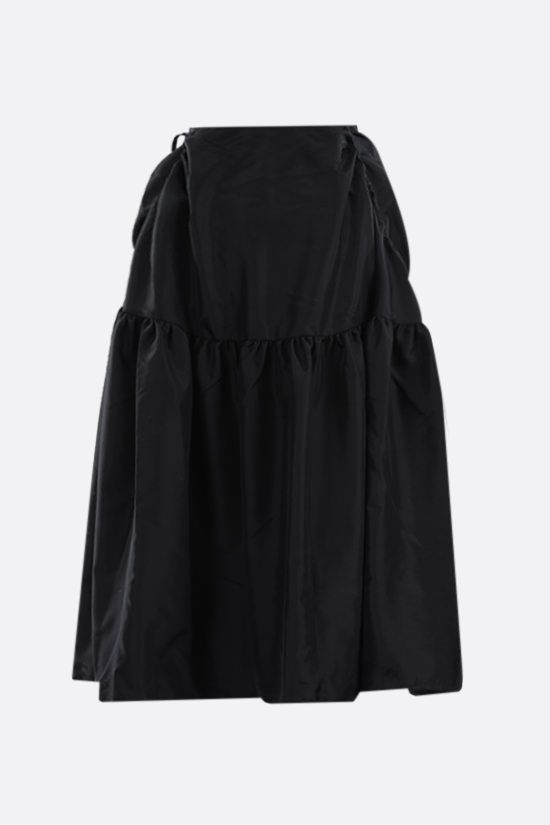 CECILIE BAHNSEN: Lily taffeta full skirt Color Black_2