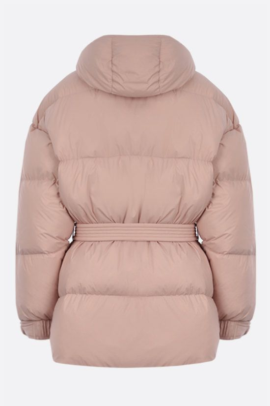 IENKI IENKI: Michlin oversize soft nylon down jacket Color Pink_2