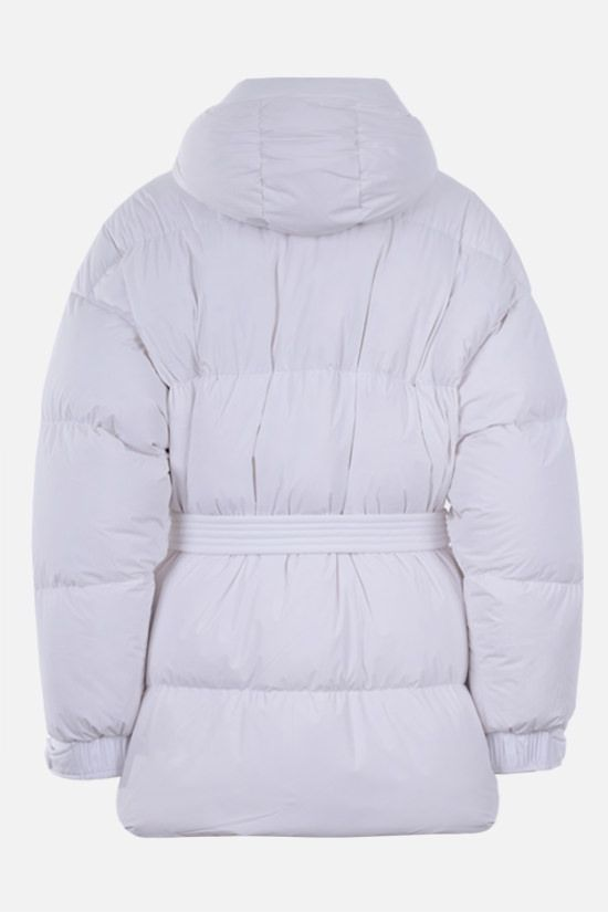 IENKI IENKI: Michlin oversize stretch nylon down jacket Color White_2