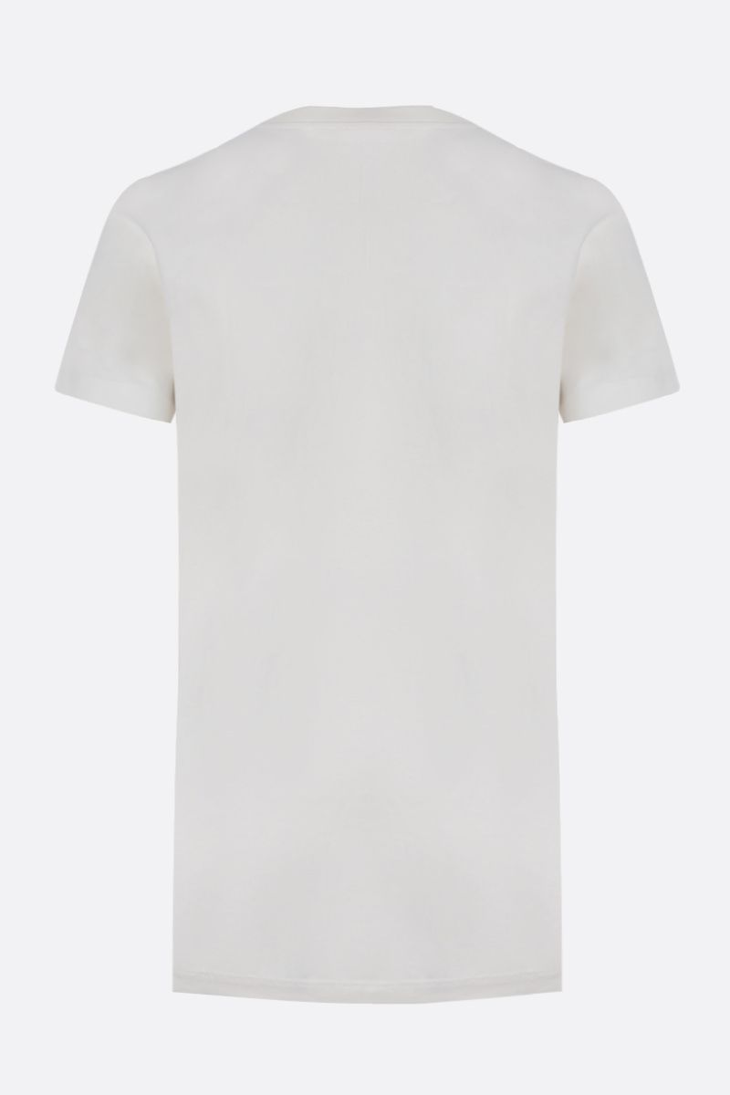 JIL SANDER: pack 3 cotton t-shirt Color White_2