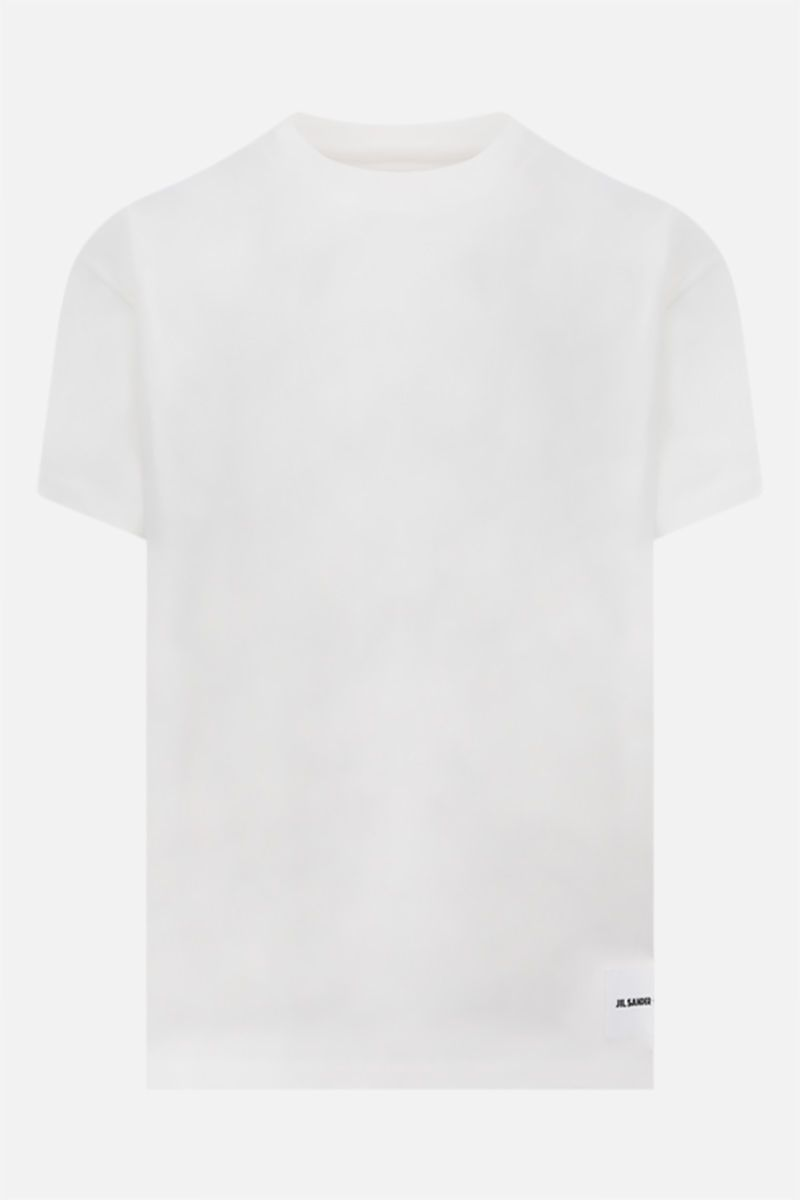 JIL SANDER: 3 t-shirt pack in organic cotton jersey Color White_2