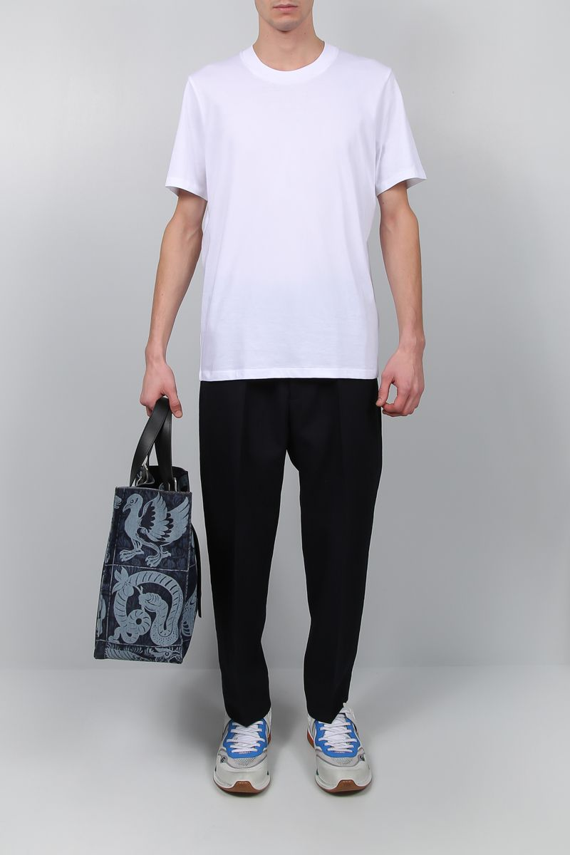 JIL SANDER: regular-fit jersey t-shirt Color White_2