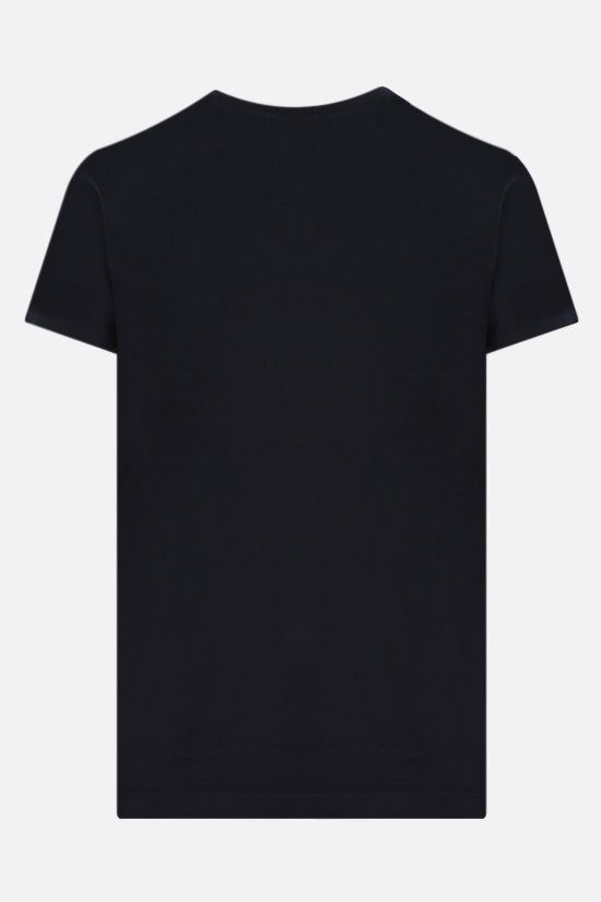 JIL SANDER: cotton jersey t-shirt Color Blue_2