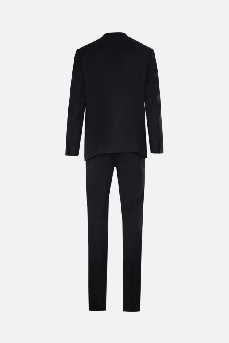 ERMENEGILDO ZEGNA: Milano Easy wool two-pieces suit Color Blue_2