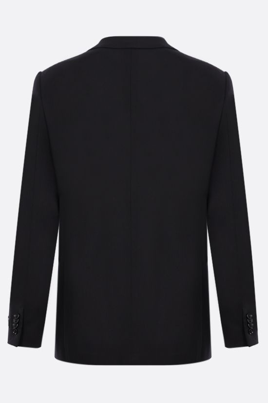 ERMENEGILDO ZEGNA: Packaway single-breasted wool jacket Color Black_2