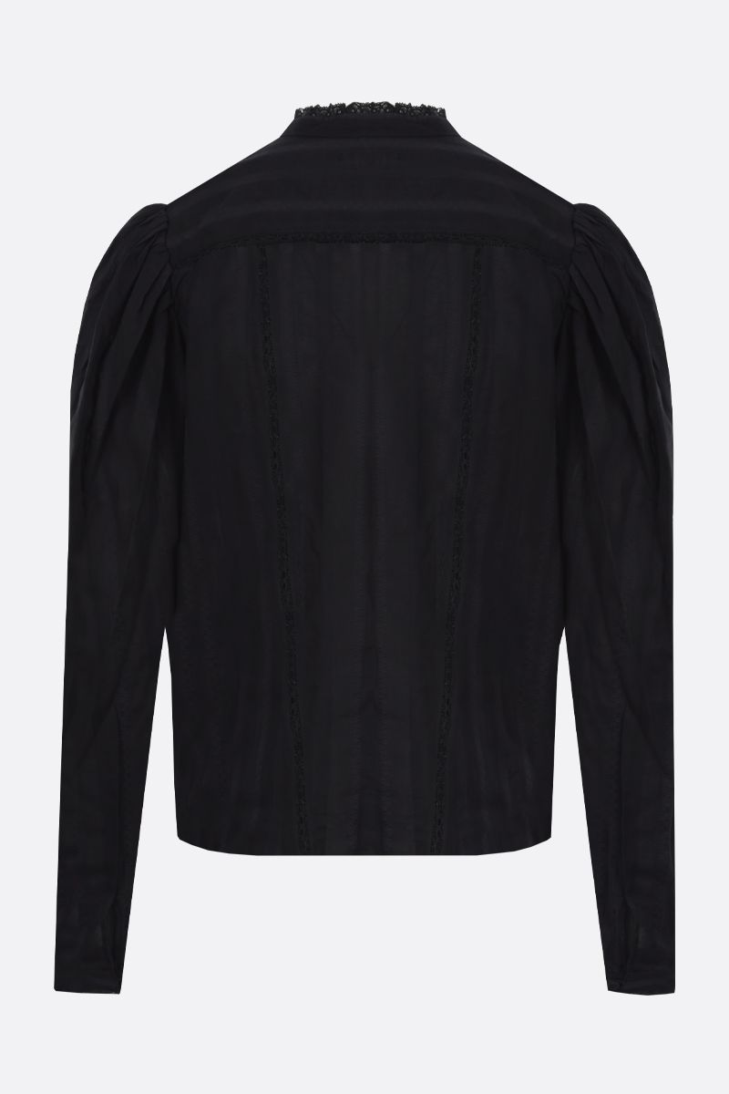 ISABEL MARANT ETOILE: Reafi cotton shirt Color Black_2