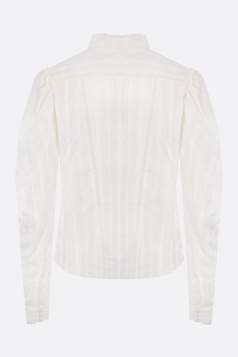 ISABEL MARANT ETOILE: Reafi cotton shirt Color White_2