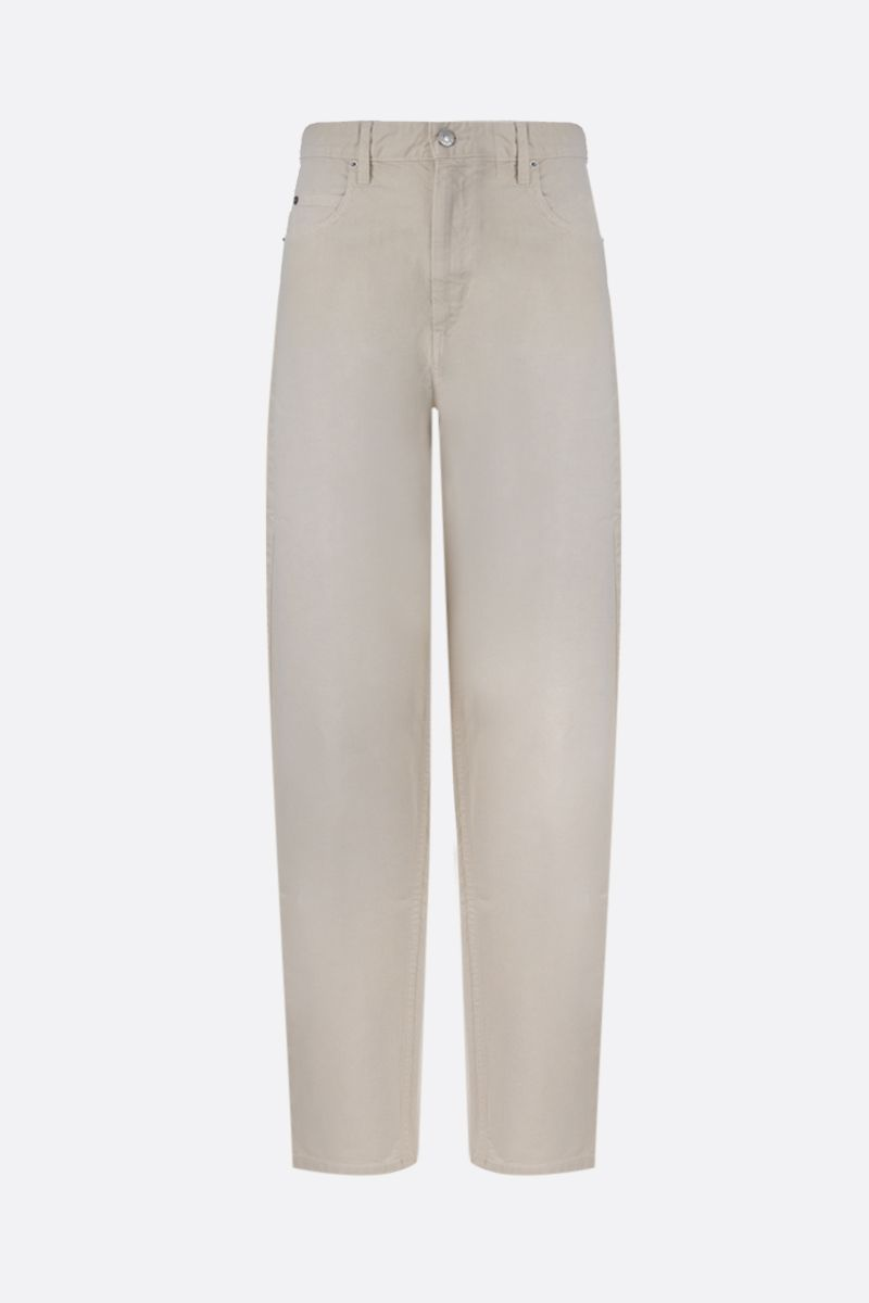 ISABEL MARANT ETOILE: Corsyc baggy-fit jeans Color Neutral_1
