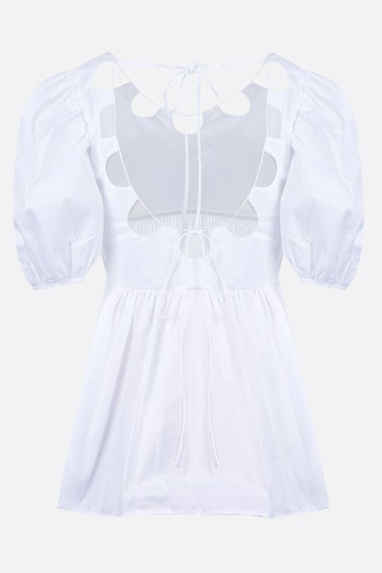 CECILIE BAHNSEN: Hope organic cotton blouse Color White_2