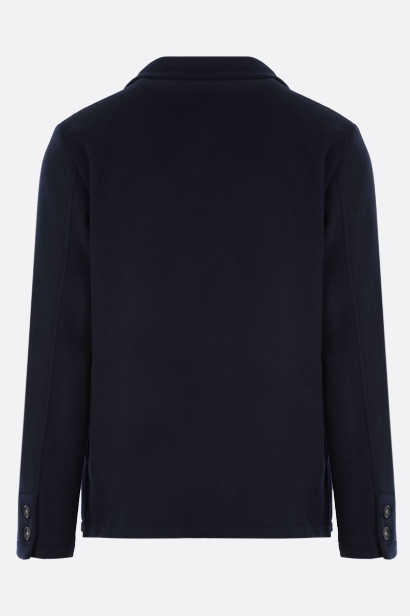 MASSIMO ALBA: wool single-breasted jacket Color Blue_2