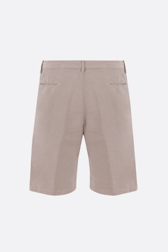 MASSIMO ALBA: Vela linen cotton blend shorts Color Neutral_2