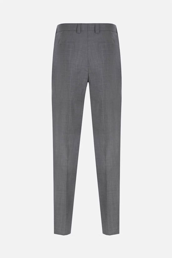 BRUNELLO CUCINELLI: wool darted pants Color Grey_2