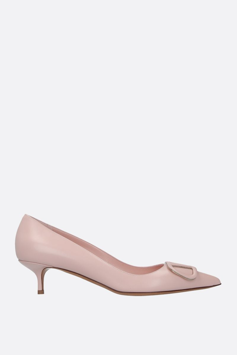 VALENTINO GARAVANI: VLOGO pumps in smooth leather_1