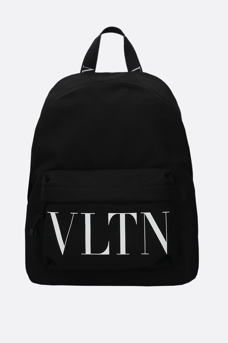 VALENTINO GARAVANI: VLTN nylon backpack Color Black_1