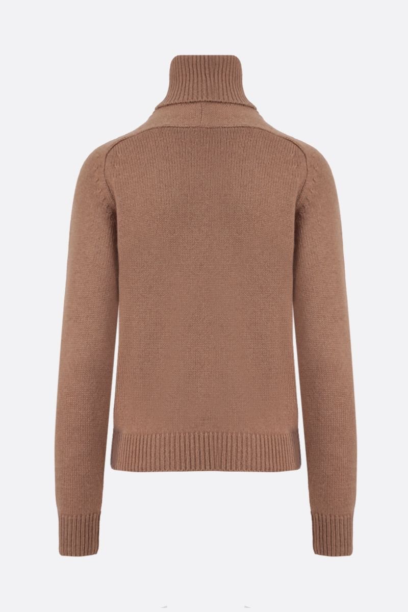 SAINT LAURENT: wool turtleneck Color Neutral_2