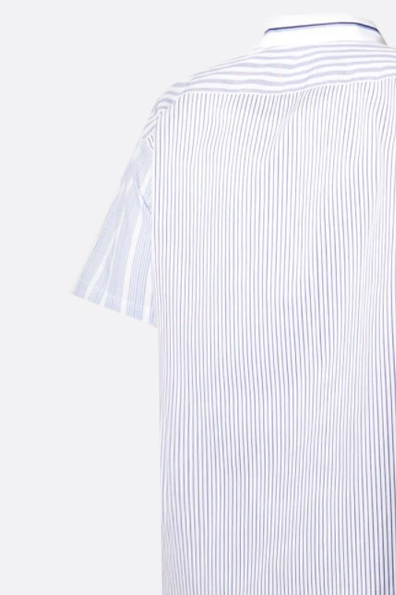COMME des GARCONS SHIRT: striped cotton short-sleeved shirt_2