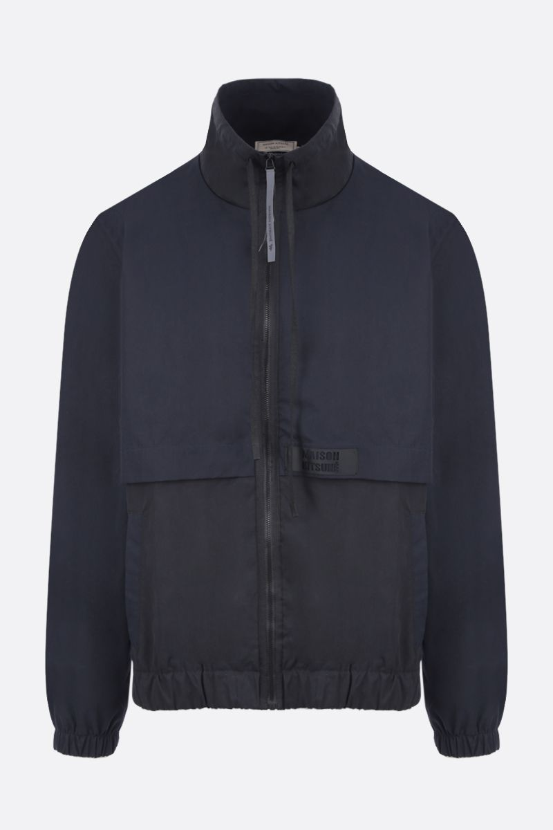 MAISON KITSUNÈ: technical cotton windbreaker_1