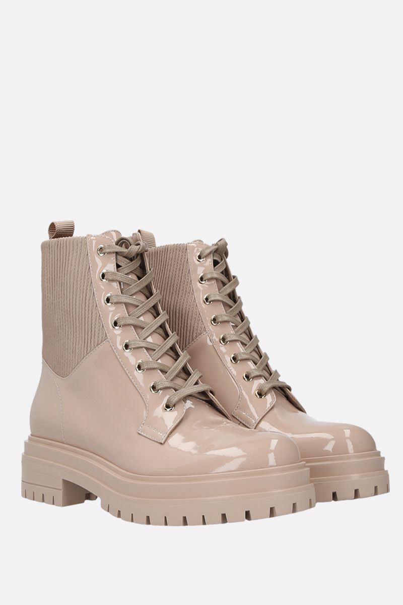 GIANVITO ROSSI: Martis patent leather combat boots_2