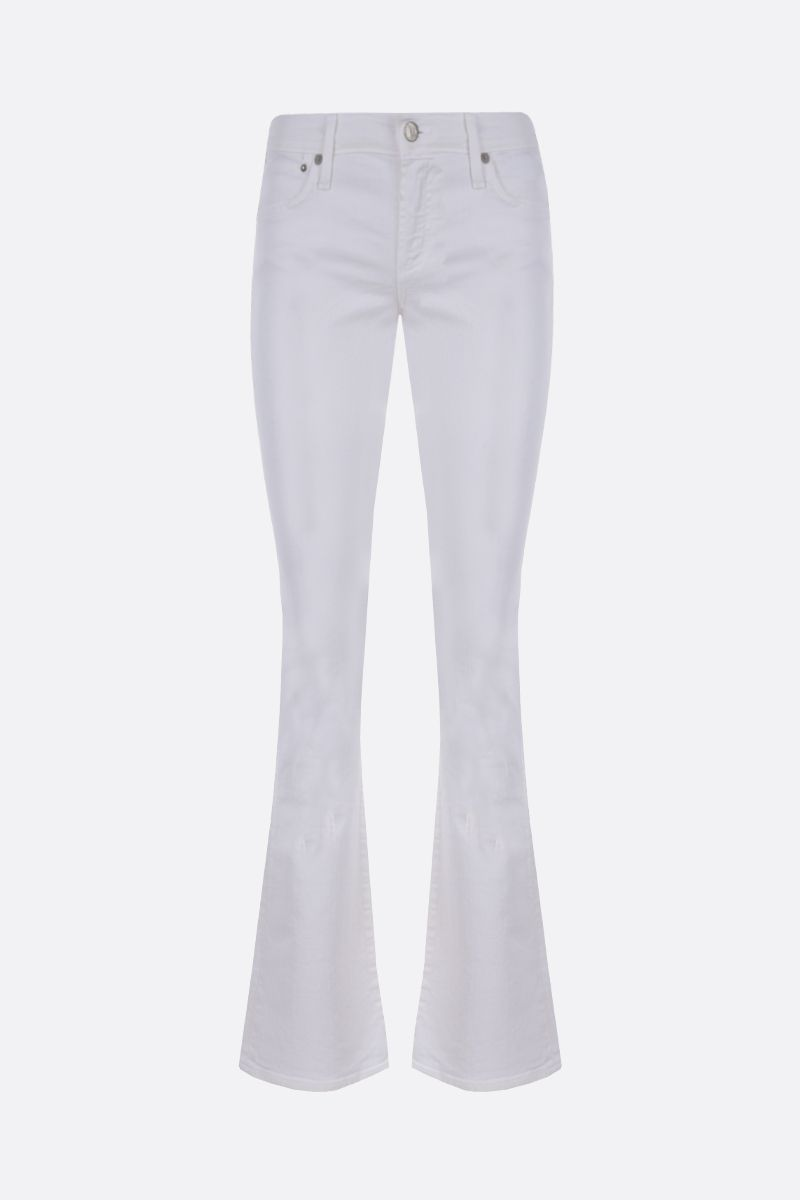 CITIZENS OF HUMANITY: Emannuelle flare jeans Color White_1