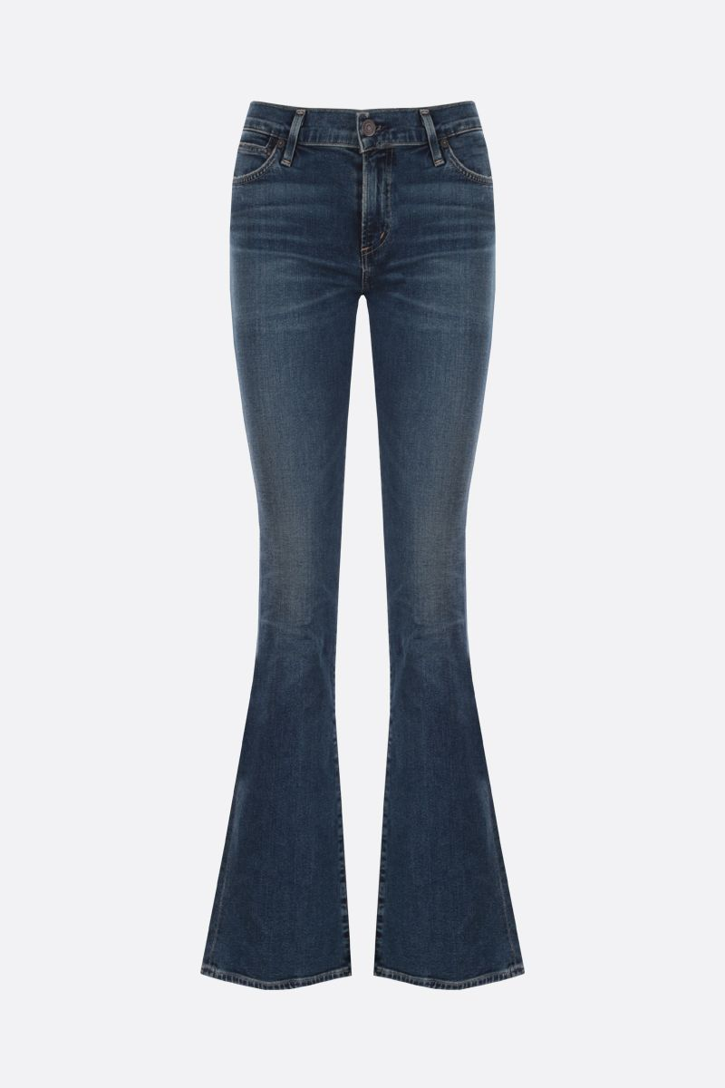 CITIZENS OF HUMANITY: Emannuelle flare jeans Color Blue_1