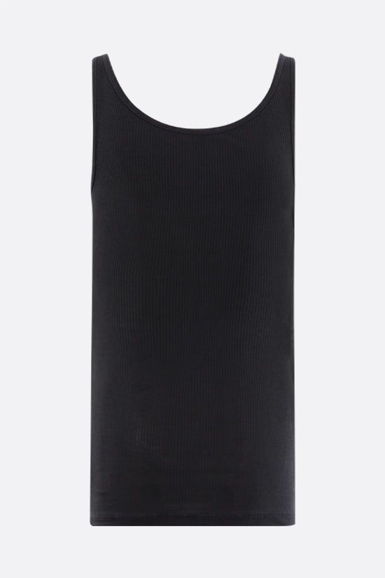 JAMES PERSE: ribbed cotton tank top Color Grey_2