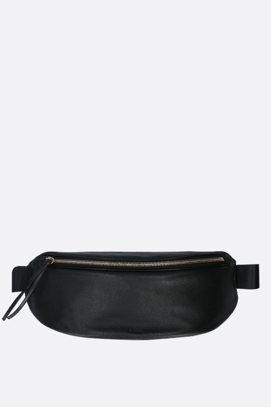 JIL SANDER: soft nappa medium belt bag Color Black_1