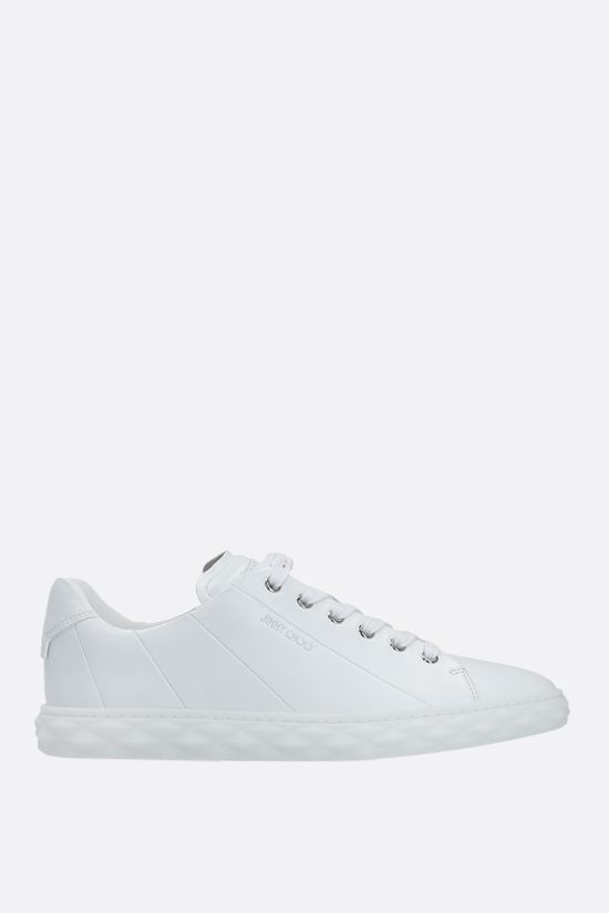 JIMMY CHOO: Diamond Light/F nappa sneakers Color White_1