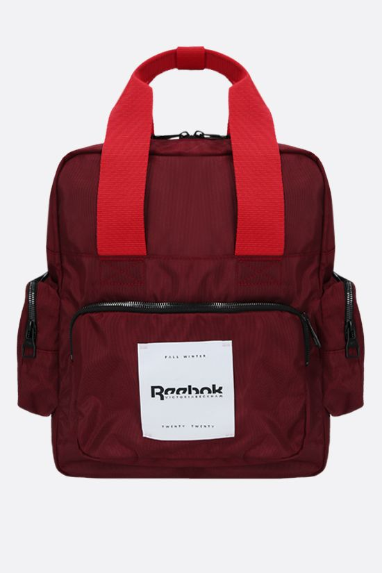 REEBOK X VICTORIA BECKHAM: Reebok Victoria Beckham recycled nylon backpack Color Red_1