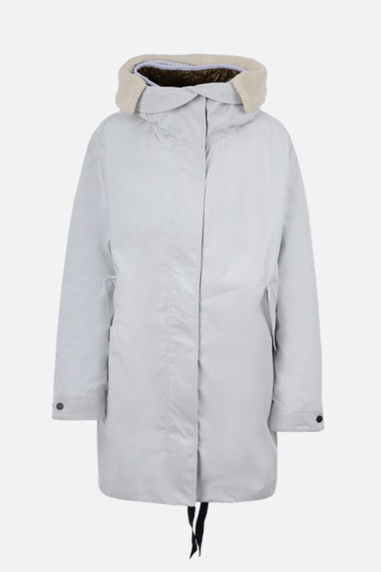 IENKI IENKI: oversize Gore Tex fabric parka Color White_1