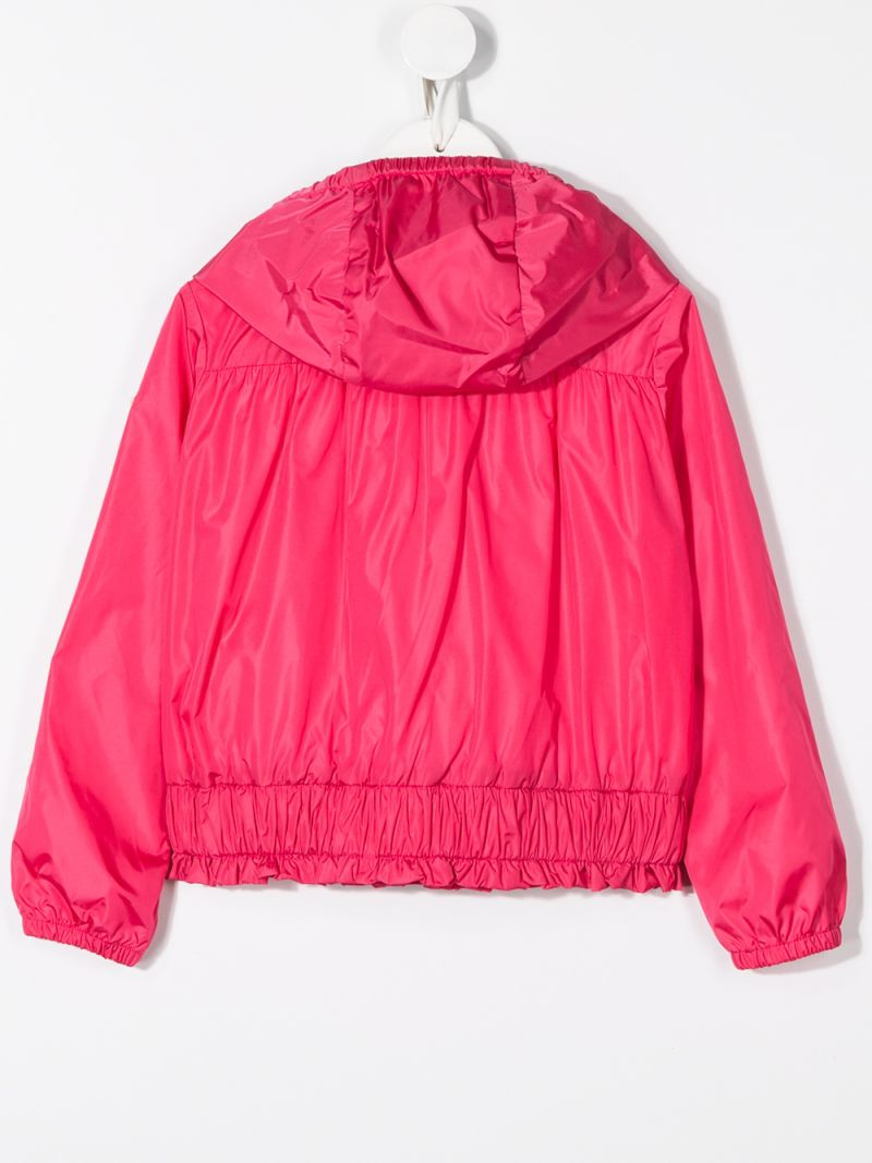 MONCLER KIDS: Erinette nylon windbreaker Color Pink_2