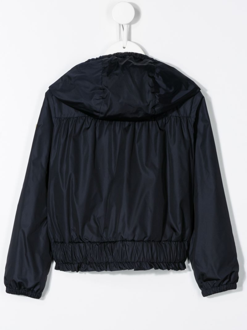 MONCLER KIDS: Erinette nylon windbreaker Color Blue_2