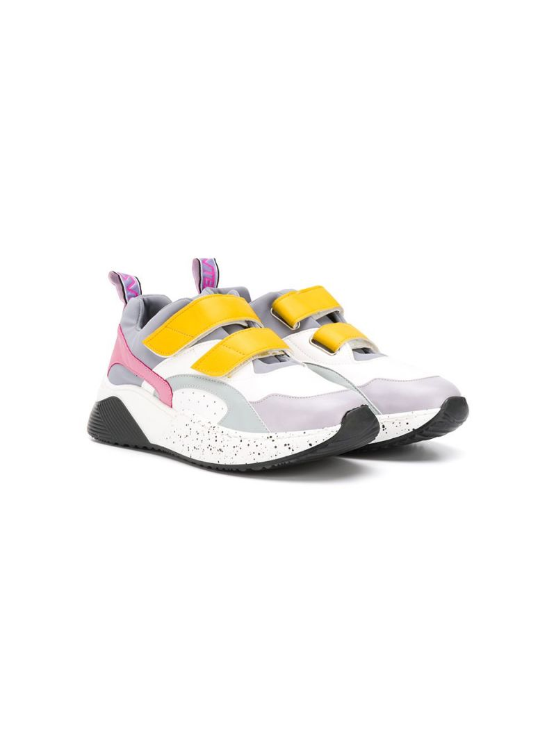 STELLA McCARTNEY KIDS: low-top sneakers in Alter Nappa and neoprene Color Multicolor_1