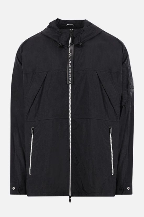 MOOSE KNUCKLES: Stereos nylon windbreaker Color Black_1