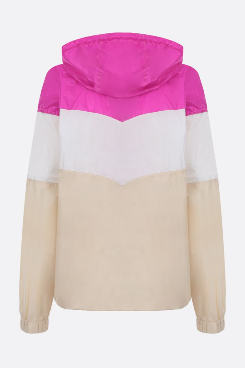 ISABEL MARANT ETOILE: Kyriel windbreaker in colour-block nylon Color Multicolor_2