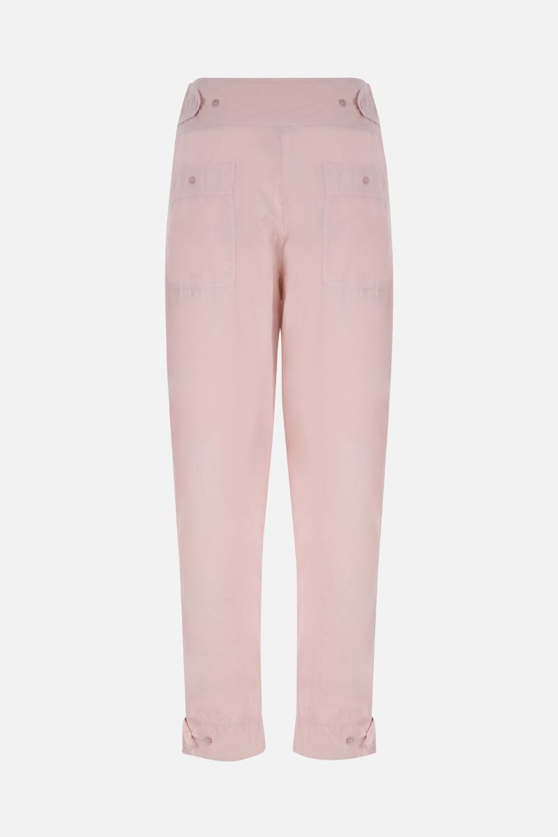 ISABEL MARANT ETOILE: pantalone carrot-fit Mariz in cotone Colore Rosa_2