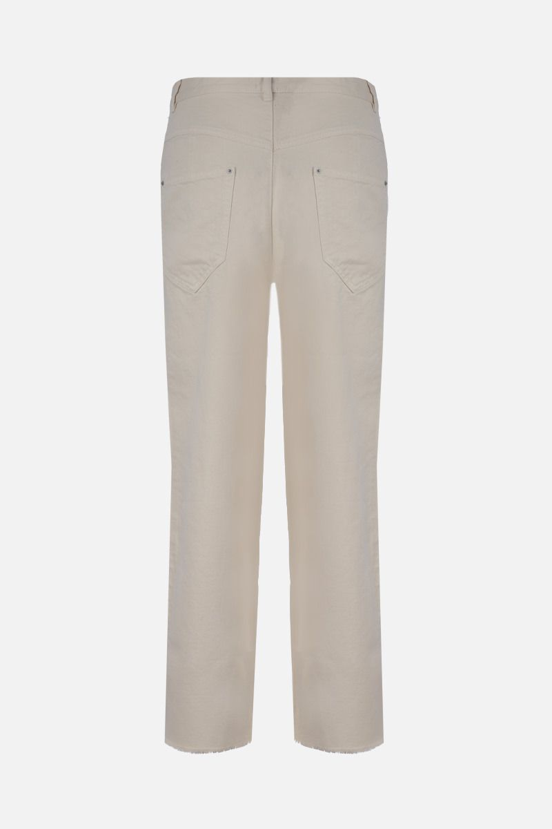 ISABEL MARANT: Naliska straight-fit jeans Color Neutral_2