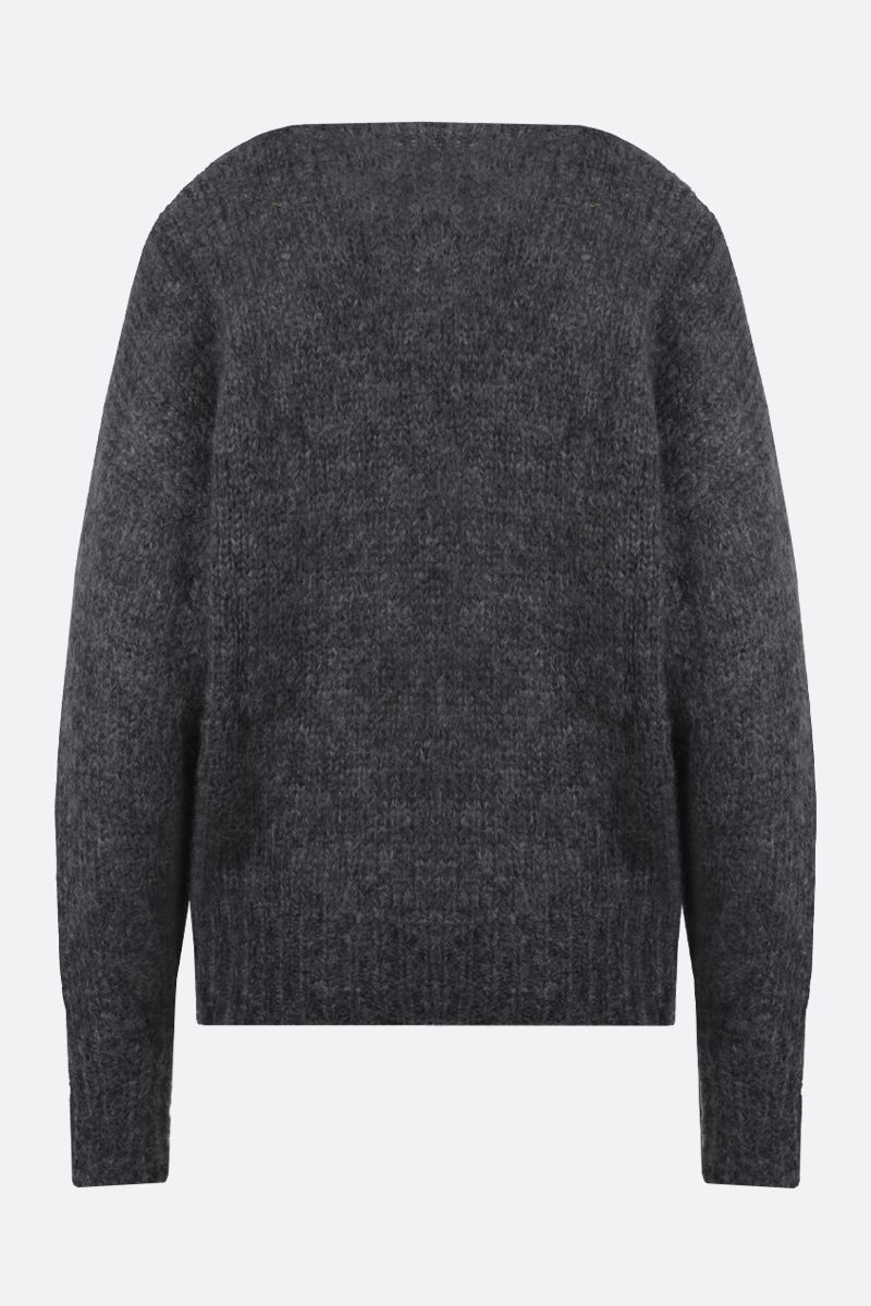 ISABEL MARANT: Estelle mohair blend pullover Color Grey_2