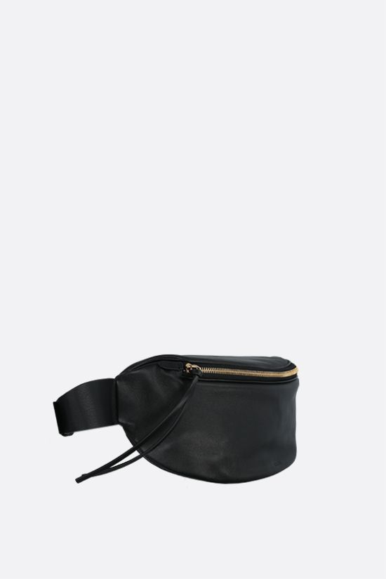 JIL SANDER: soft nappa medium belt bag Color Black_2