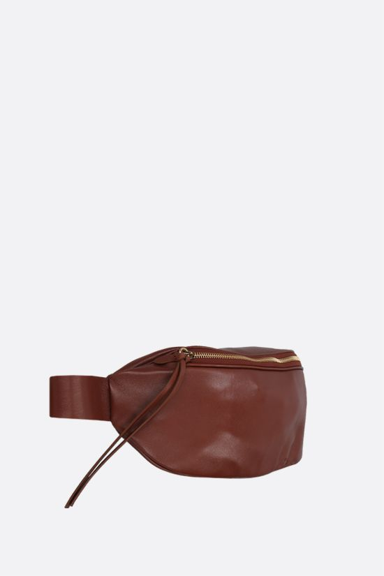 JIL SANDER: soft nappa medium belt bag Color Neutral_2