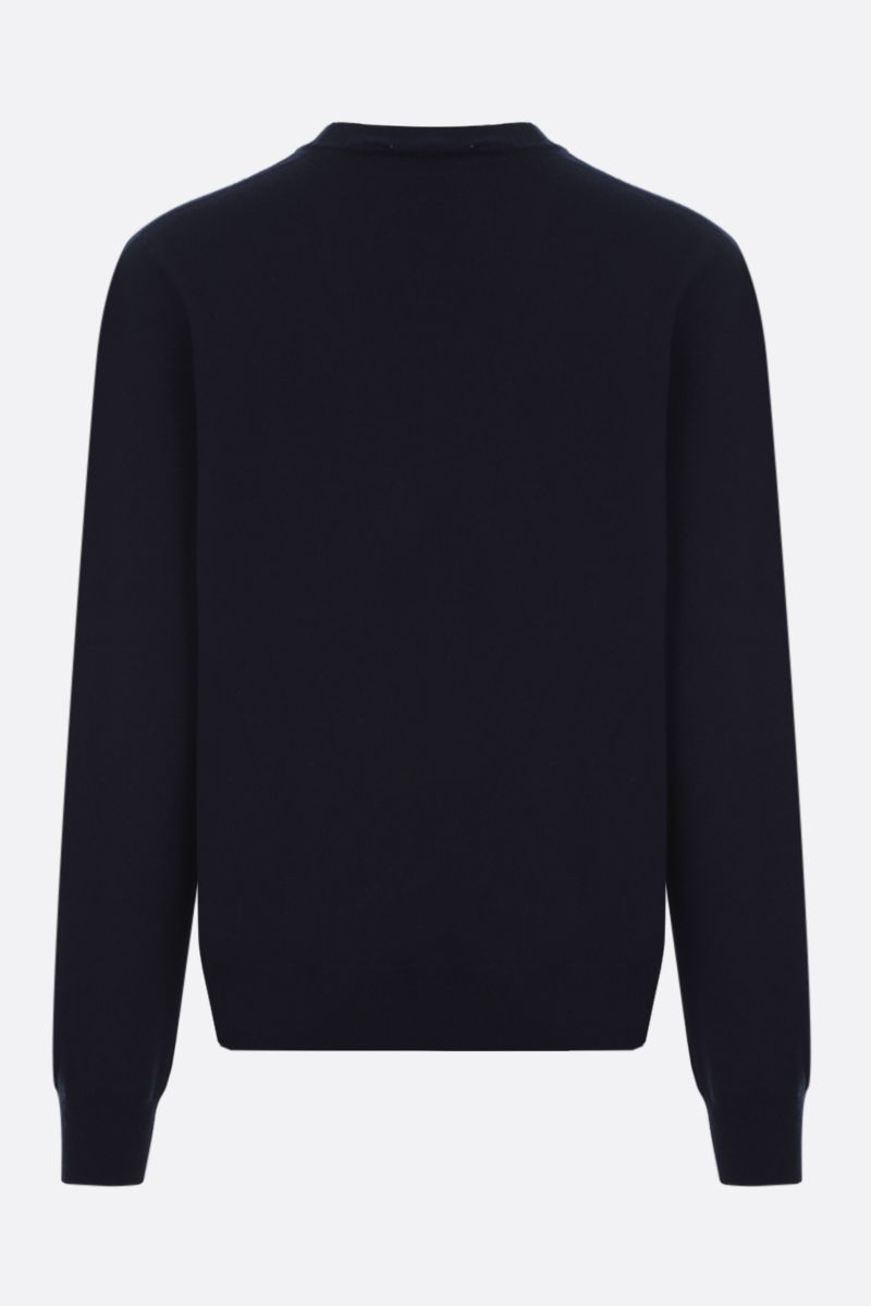 JIL SANDER: regular-fit cashmere pullover Color Blue_2