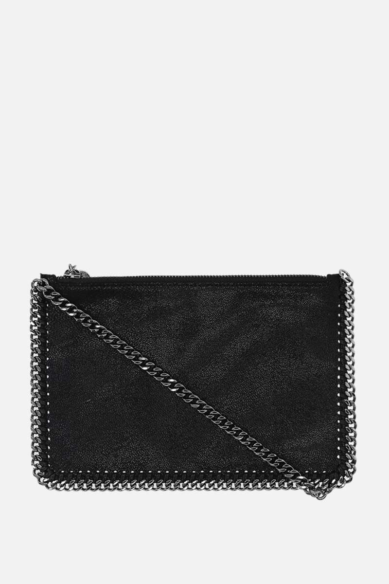 STELLA McCARTNEY: Falabella clutch in Shaggy Deer Color Black_1