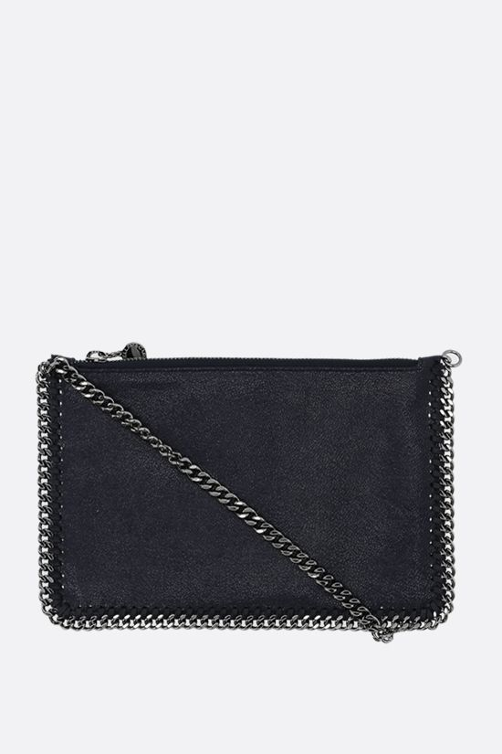 STELLA McCARTNEY: Falabella pouch in Shaggy Deer Color Blue_1