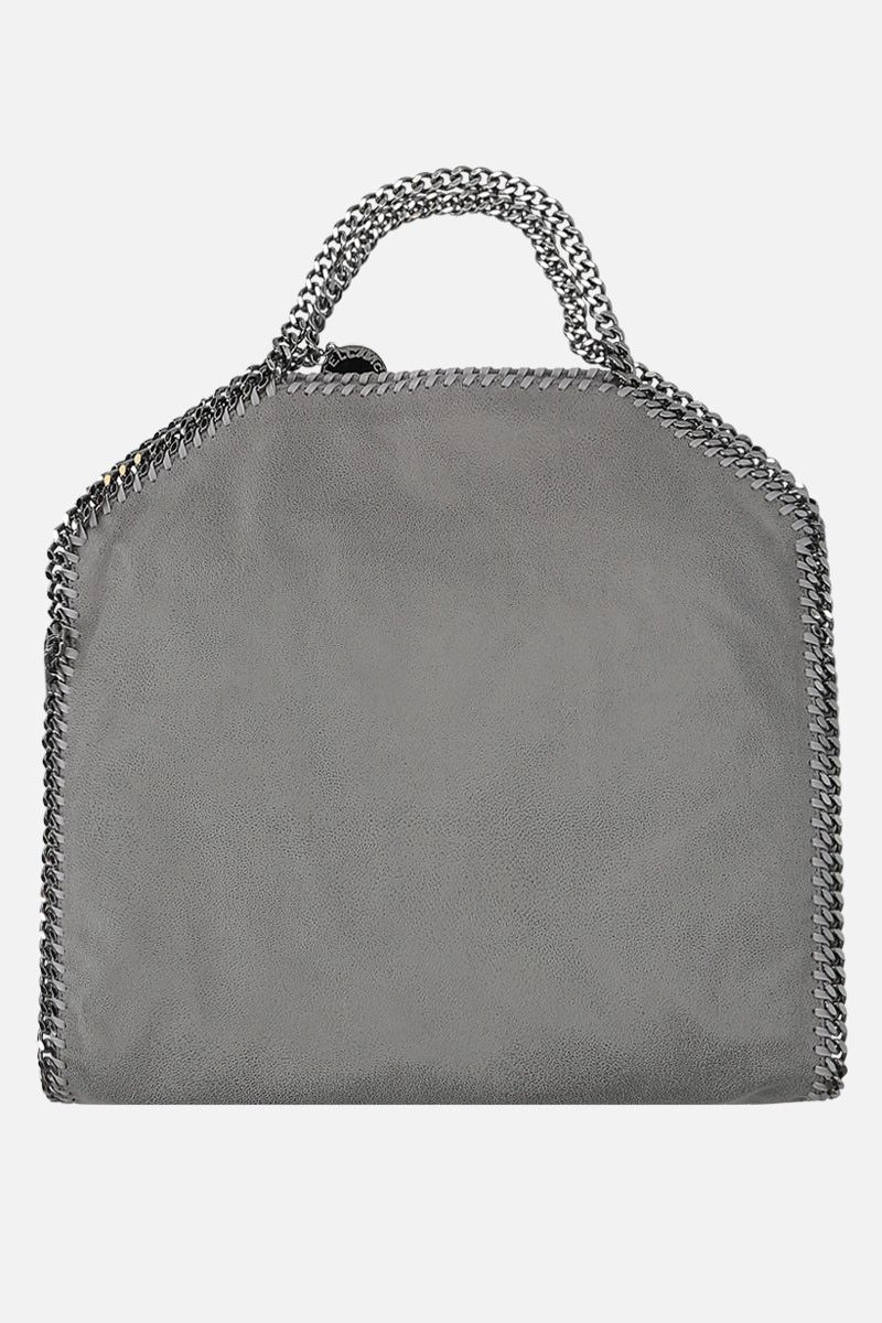 STELLA McCARTNEY: Falabella Fold over tote in Shaggy Deer Color Grey_4