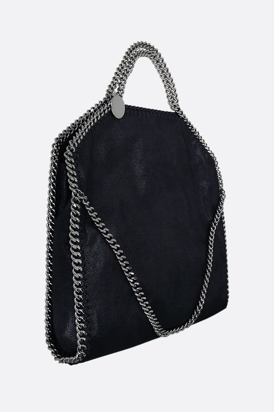STELLA McCARTNEY: Falabella fold over tote in Shaggy Deer Color Blue_2