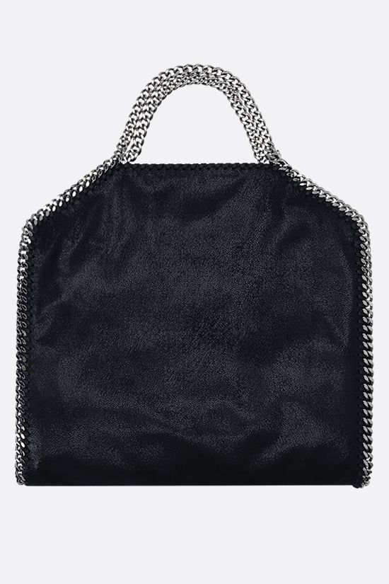 STELLA McCARTNEY: Falabella fold over tote in Shaggy Deer Color Blue_3
