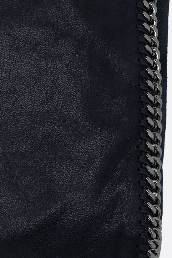 STELLA McCARTNEY: Falabella fold over tote in Shaggy Deer Color Blue_4